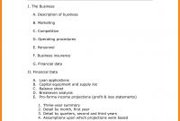 Easy Business Plan Template Word Free Basic Small Plans Uk One for Simple Startup Business Plan Template