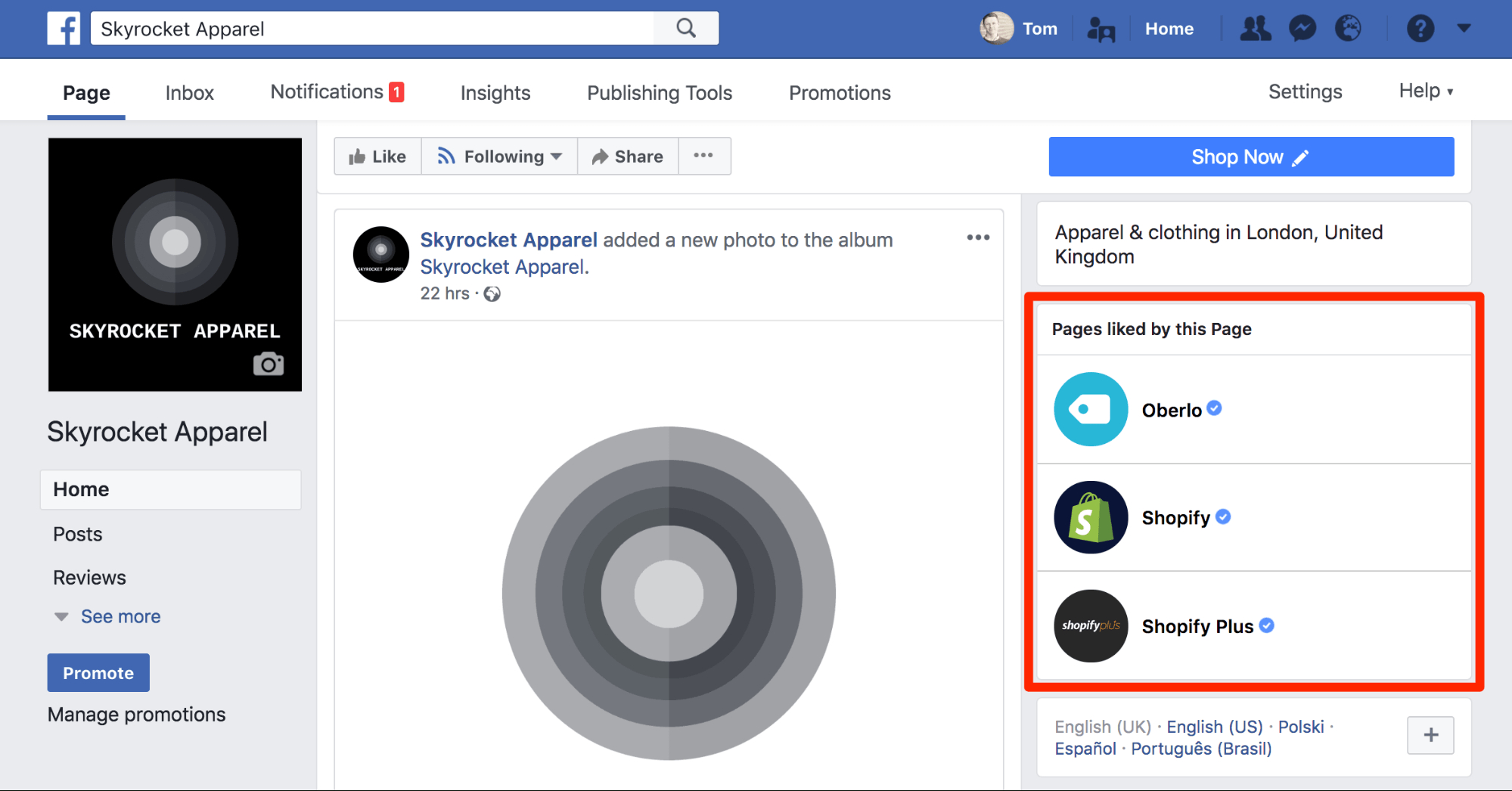 Easy Steps To Setting Up A Killer Facebook Business Page Regarding Facebook Templates For Business