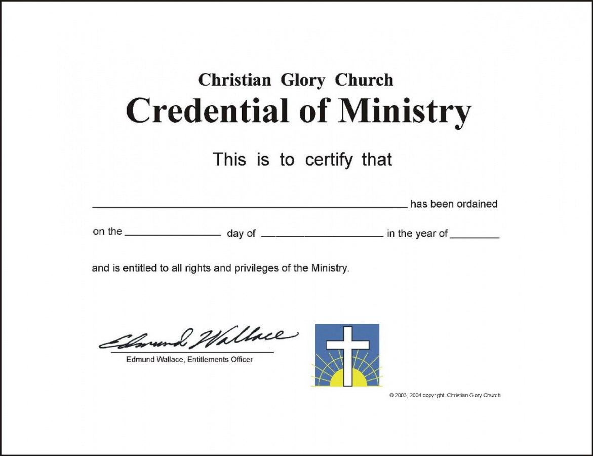 Editable Editable Ordination Certificate Template Templates Pertaining To Ordination Certificate Templates