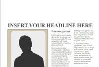 Editable Newspaper Templates For Powerpoint Presentations Editable with regard to Newspaper Template For Powerpoint