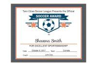 Editable Pdf Sports Team Soccer Certificate Award Template In inside Hockey Certificate Templates