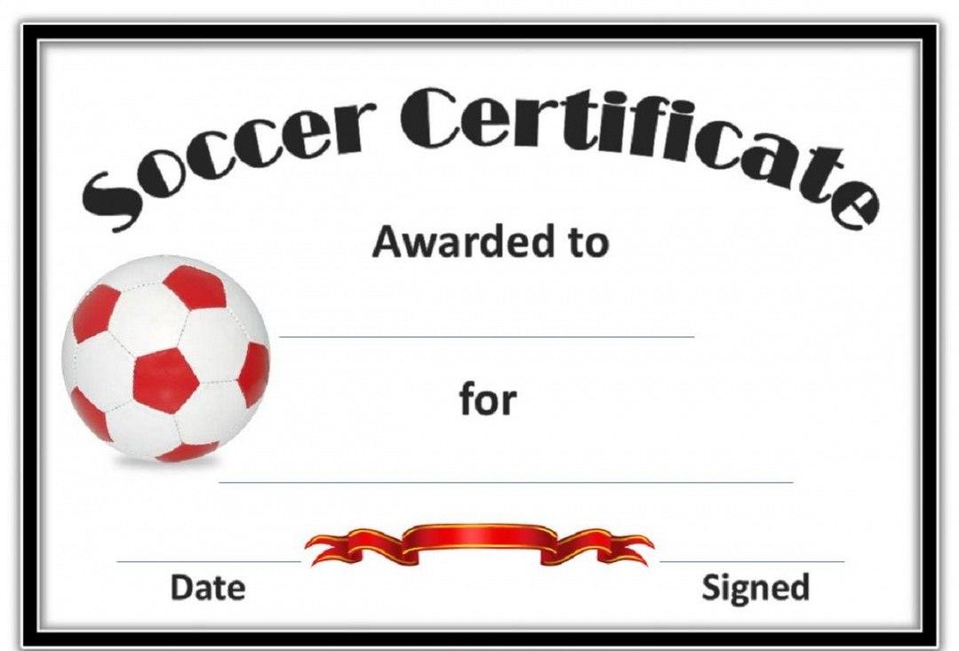 Editable Soccer Award Certificates Template Kiddo Shelter Blank Free Inside Soccer Award Certificate Template
