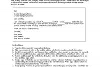 Effective Collection Letter Templates  Samples ᐅ Template Lab intended for Legal Debt Collection Letter Template