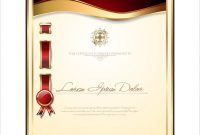 Elegant Certificate Template  Mandegar with regard to Elegant Certificate Templates Free