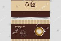 Elegant Coffee Business Card Template Free  Hydraexecutives within Coffee Business Card Template Free