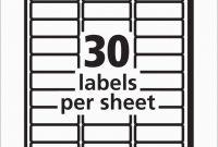 Elegant Free Christmas Return Address Label Templates  Per Sheet pertaining to Free Template For Labels 30 Per Sheet