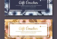 Elegant Gift Voucher Coupon Template Royalty Free Vector within Elegant Gift Certificate Template