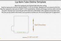 Elegant Lip Balm Label Template  Best Sample Excellent  – Label throughout Chapstick Label Template