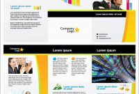 Elegant Tri Fold Template Illustrator Free  Best Of Template regarding Free Illustrator Brochure Templates Download