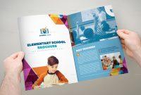 Elementary School Brochure Template Xa Trifoldaudiovisualmedia regarding Tri Fold School Brochure Template