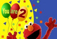 Elmo Birthday Cards Personalized  Brainmaxx with regard to Elmo Birthday Card Template