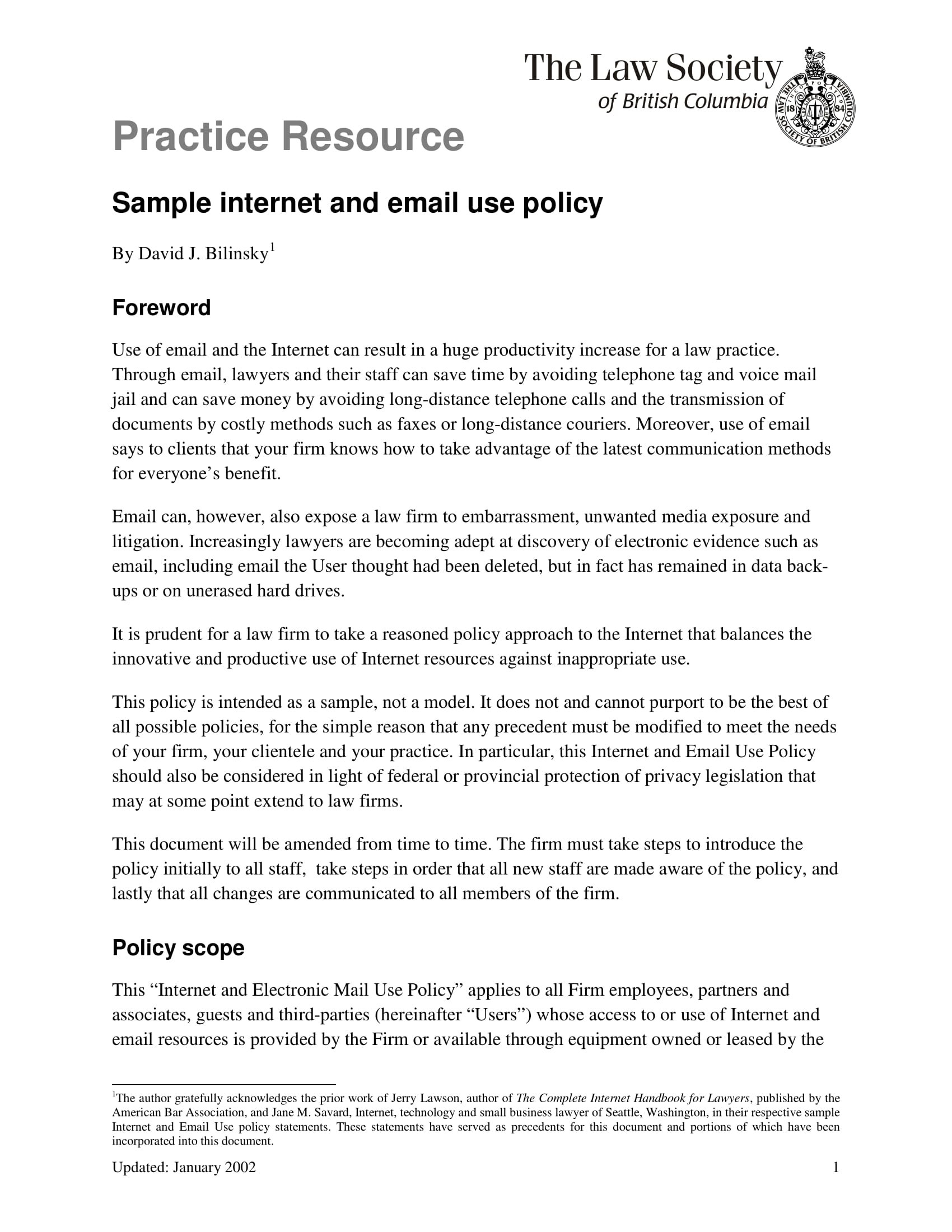 Email Policy Examples  Pdf  Examples Regarding Business Email Template Pdf