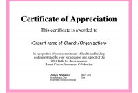 Employee Appreciation Certificate Template Free Recognition throughout Certificates Of Appreciation Template