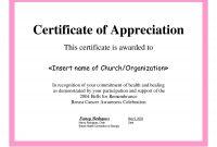 Employee Appreciation Certificate Template Free Recognition within Gratitude Certificate Template