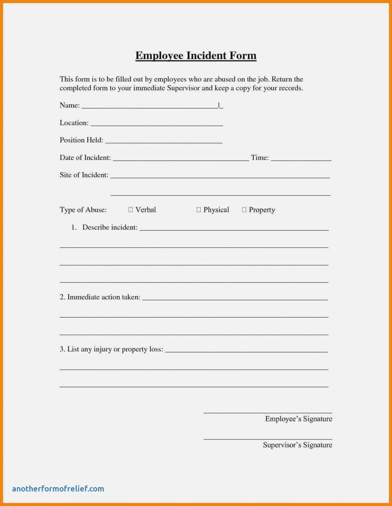 Employee Incident Report Form Best Of Patient Care Report Template In Patient Care Report Template