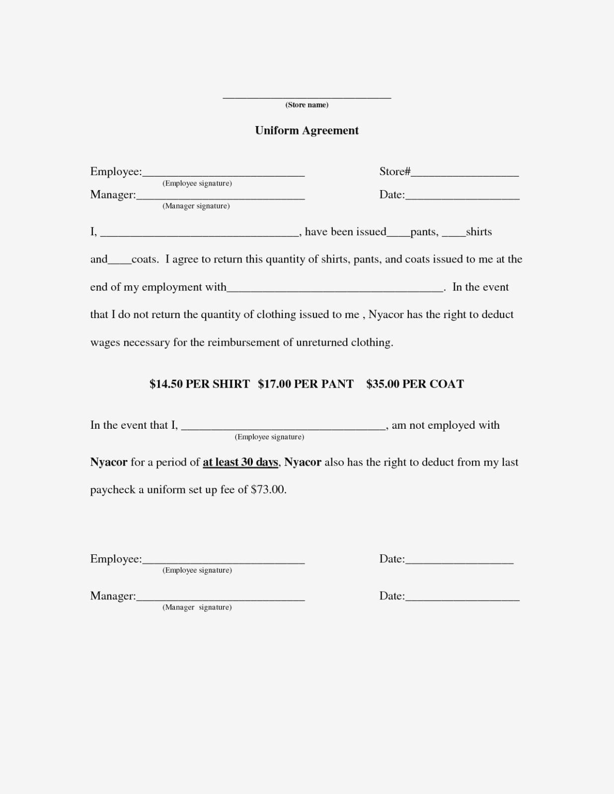 Employee Key Holder Agreement Template  – Hitori – Form Information Within Key Holder Agreement Template