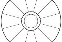 Empty Focus Wheel To Print  Abraham  Focus Wheel Word Wheel regarding Blank Wheel Of Life Template