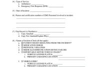 Ems Serious Incident Report Form Fill Online Printable Fillable with Serious Incident Report Template