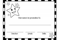 End Of The Year Awards  Printable Certificates  Squarehead Teachers intended for Classroom Certificates Templates