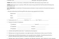 Equipment Purchase Agreement Examples  Pdf  Examples throughout Credit Purchase Agreement Template