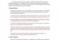 Equity Sharing Agreement Form Startup Sample Basic Free Real Estate for Sample Shareholder Agreement For Startup