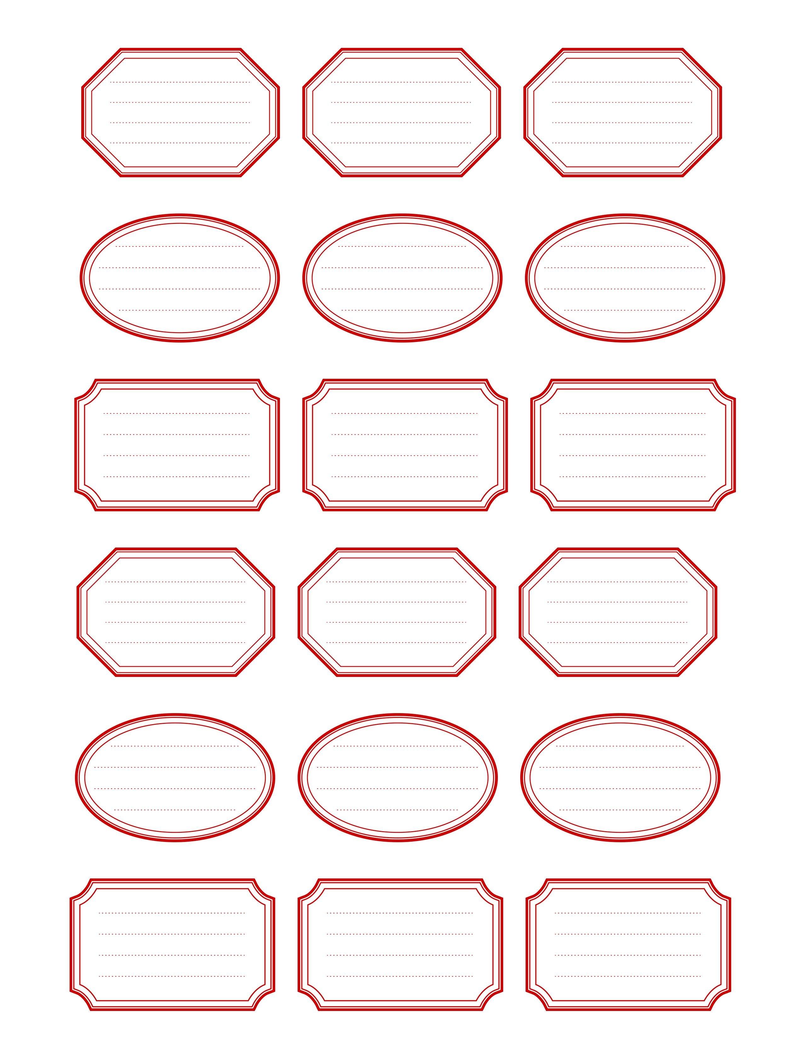 Etiquettes Imprimables  Free Printable Vintage Label Templates Free For Free Printable Vintage Label Templates
