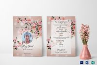 Eulogy Funeral Invitation Design Template In Word Psd Publisher regarding Funeral Invitation Card Template