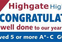 Exam Congratulations Banner  School Banners  Personalised for Congratulations Banner Template