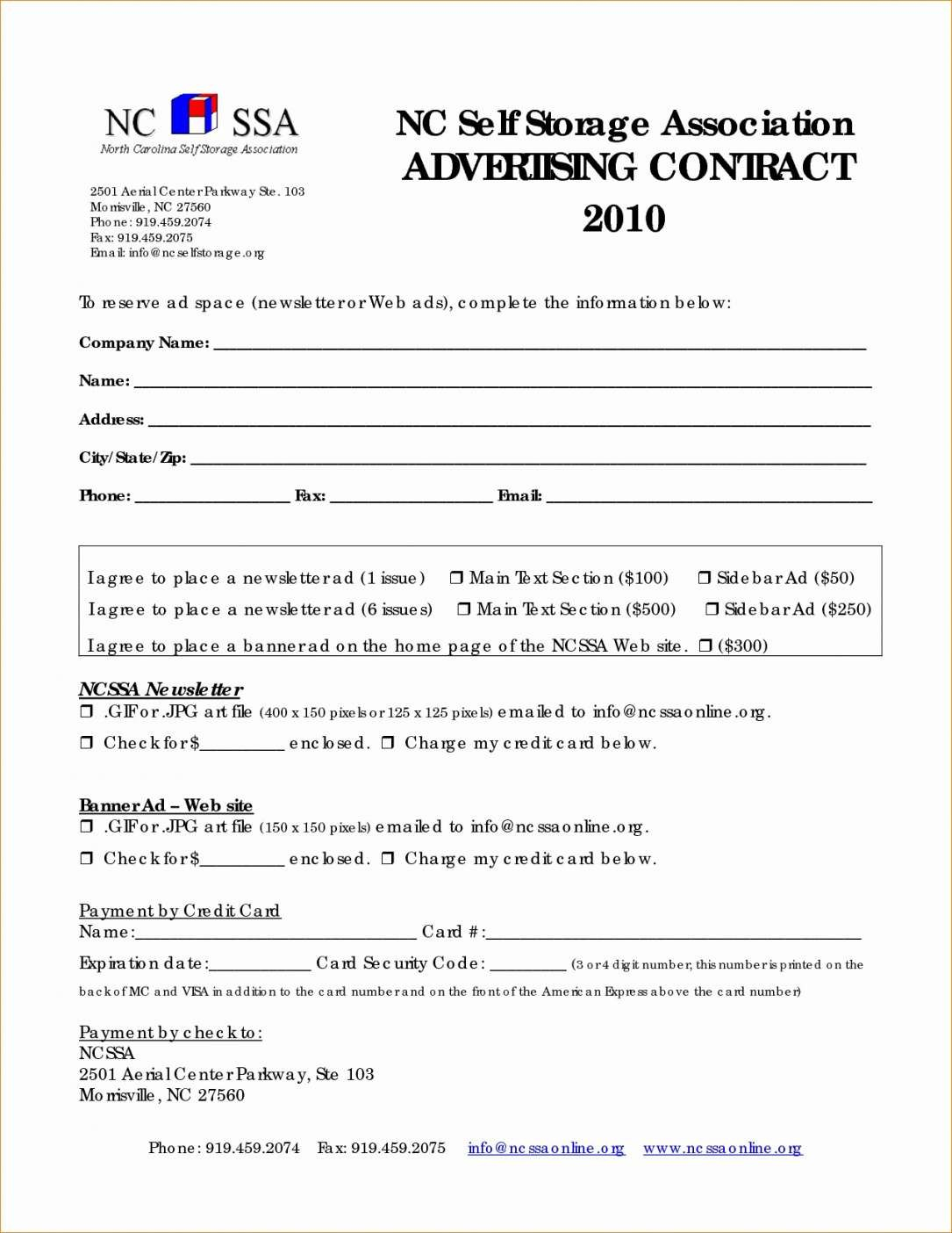 Example Of Online Advertising Agreement Template Free From Our With Free Online Advertising Agreement Template
