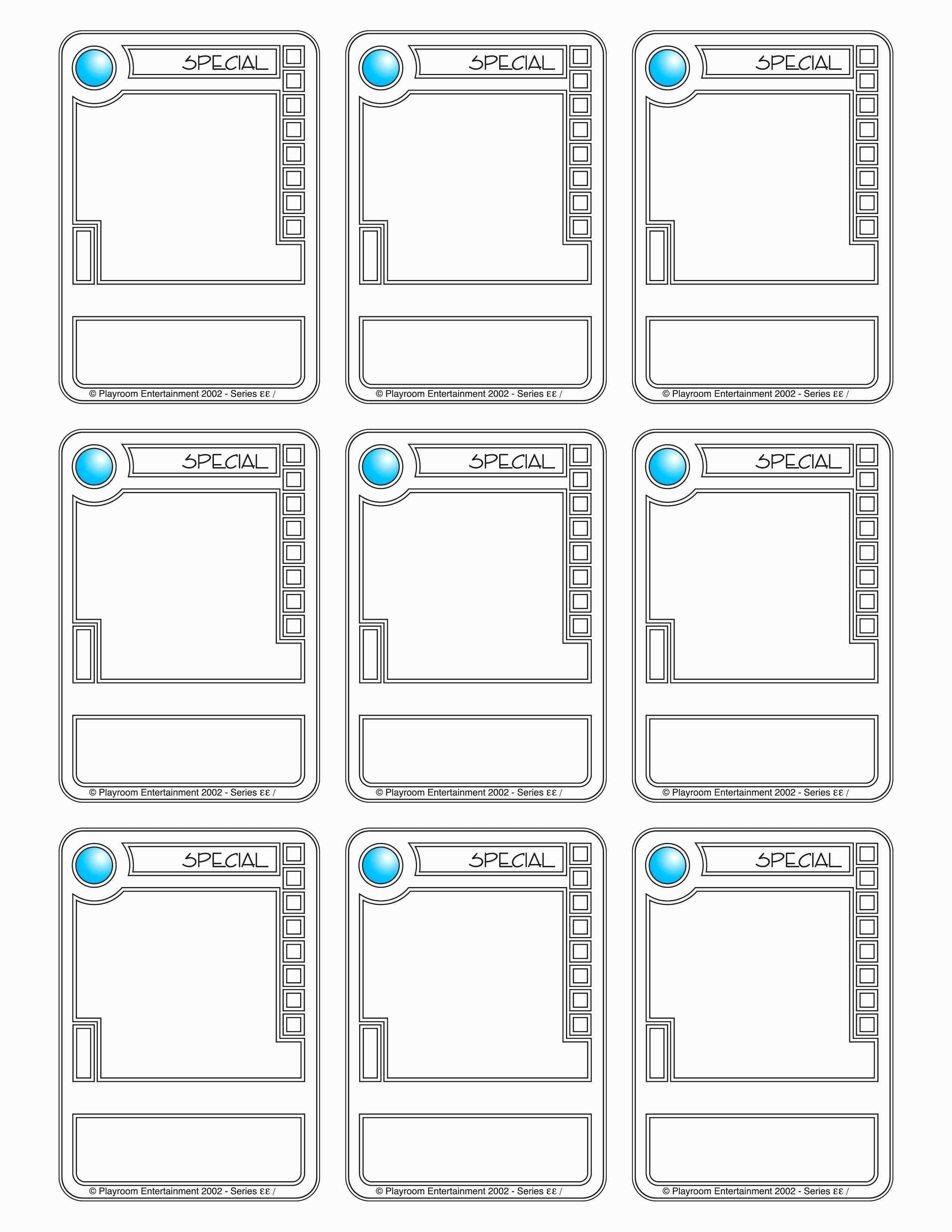 Examples Free Trading Card Template Maker For Success Ideas In Trading Cards Templates Free Download