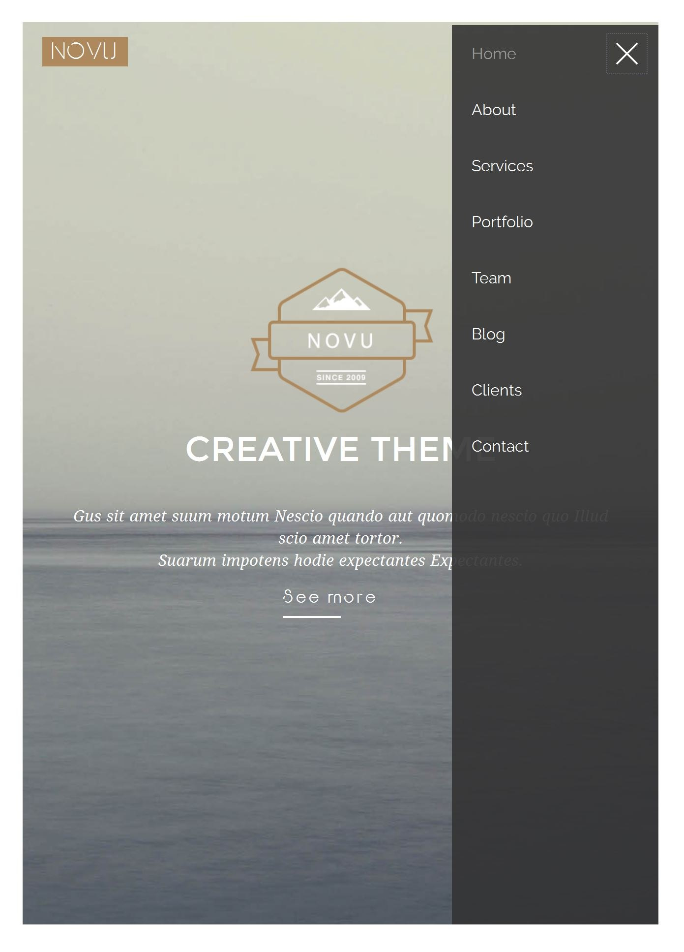 Excellent Free Html Bootstrap Templates Throughout Free Html Menu Templates