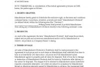 Exclusivity Agreement Template   Free Templates In Pdf Word inside Exclusive Distribution Agreement Template Free