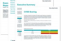Executive Age Summary Report  Sc Report Template  Tenable® regarding Executive Summary Report Template