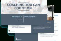 Executive Coaching Proposal Template  Free Sample  Proposify regarding Business Coaching Contract Template