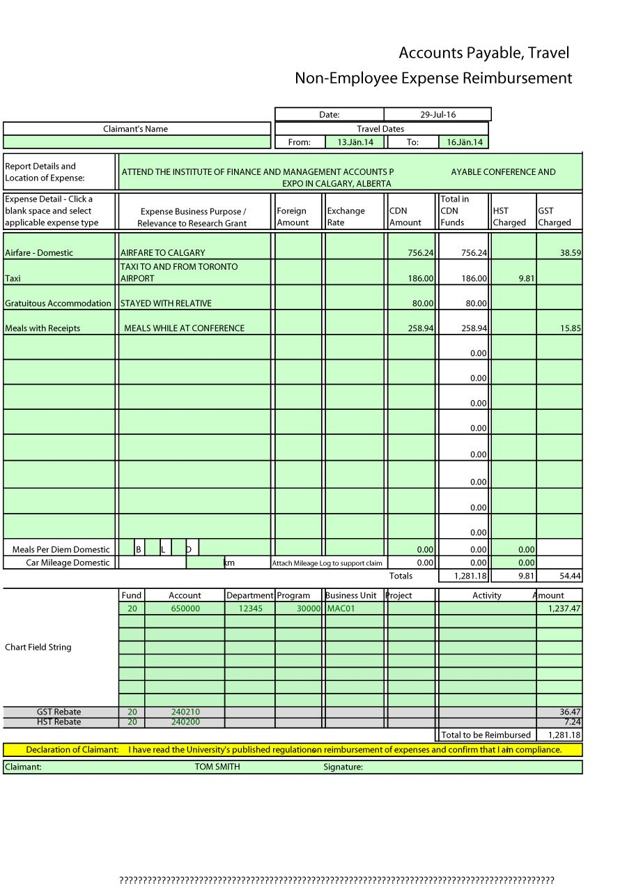 Expense Report Templates To Help You Save Money ᐅ Template Lab Throughout Expense Report Template Excel 2010
