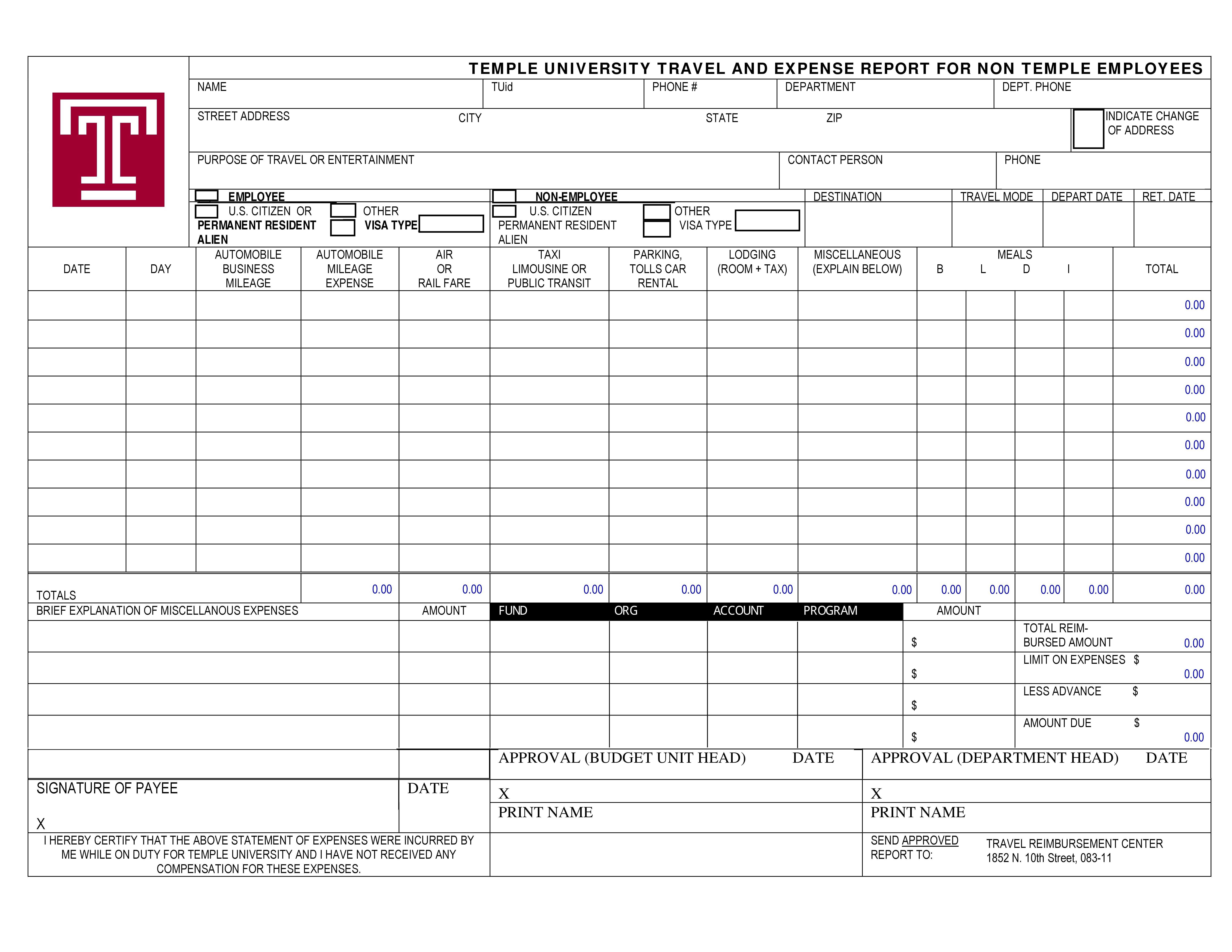 Expense Report Templates To Help You Save Money ᐅ Template Lab Within Expense Report Template Excel 2010