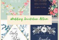 Fabulous Wedding Invitation Cards Design Online For Your within Sample Wedding Invitation Cards Templates