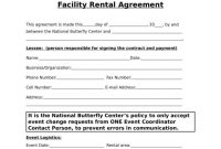 Facility Rental Agreement Templates  Pdf  Free  Premium Templates intended for Venue Rental Agreement Template
