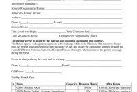 Facility Rental Agreement Templates  Pdf  Free  Premium Templates within Venue Rental Agreement Template