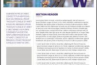 Fact Sheet  Uw Brand with Fact Sheet Template Microsoft Word