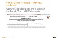 Faculty Activity Information Reporting System  Ppt Download within Nih Biosketch Template Word