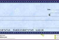 Fake Blank Check Template Images Of Fill In Leseriail for Blank Check Templates For Microsoft Word