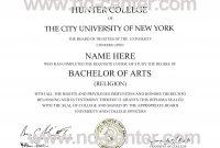 Fake College Degree Template  Sansurabionetassociats pertaining to Doctorate Certificate Template