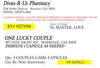 Fake Prescription Generator Labels Template Bottle Label pertaining to Prescription Labels Template