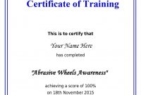 Fall Protection Certification Template  Alieninsider within Fall Protection Certification Template
