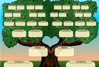 Family Tree Powerpoint Template Is A Free Template With Family Tree intended for Powerpoint Genealogy Template