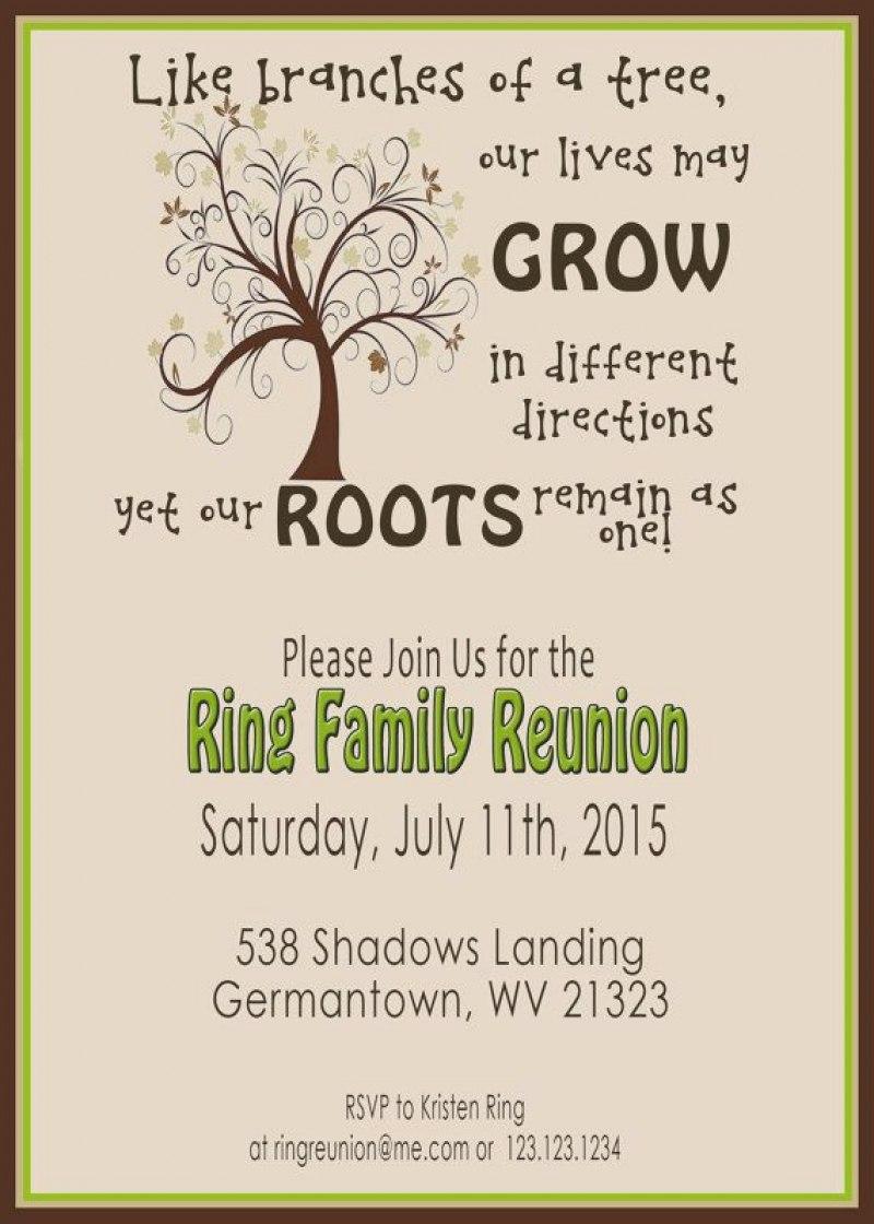 Familynion Invitation Cards Template Orderecigsjuice Info Intended For Reunion Invitation Card Templates