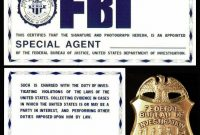 Fbi Id From The Xfiles  Template Juant  Mich In with regard to Spy Id Card Template