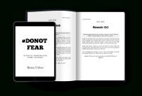 Fearless X Selfpublishing Template  Renee Fisher  Co within 6X9 Book Template For Word