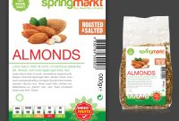 Feminine Elegant Product Label Design For Adams Vision Srl within Food Product Labels Template